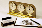 multiple time zone desk clocks
