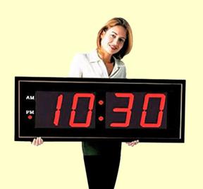 digital clock radio on wall digital led clock circuit diagram