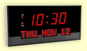 Digital Clocks With Bright Led S Lighted Electric Diodes