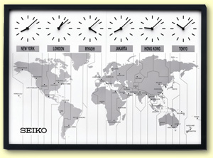 World Clocks - Small World Clocks for Sale