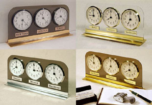 multiple time zone clocks